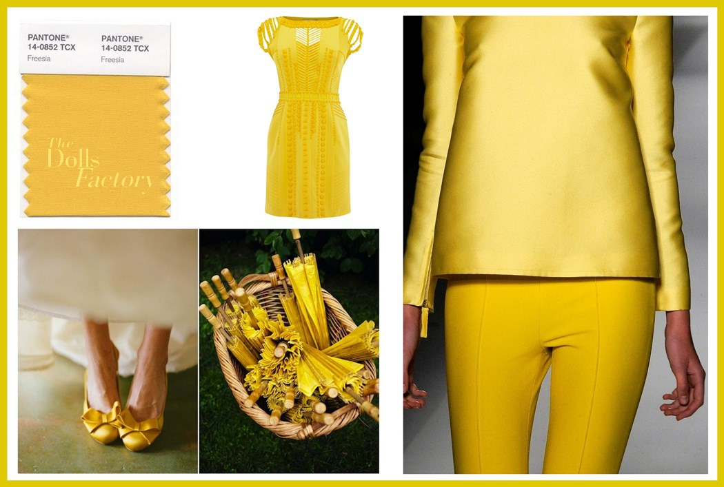 Color Trend For 2014 Freesia The Dolls Factory