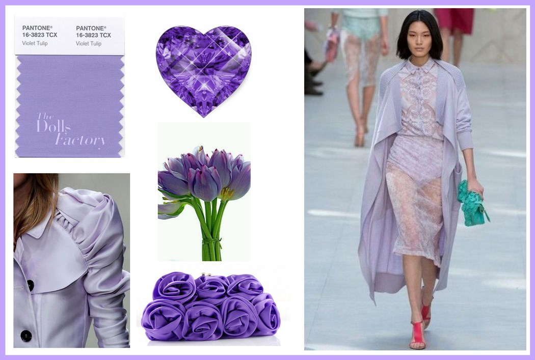 Color Trend For 2017 Violet Tulip The Dolls Factory