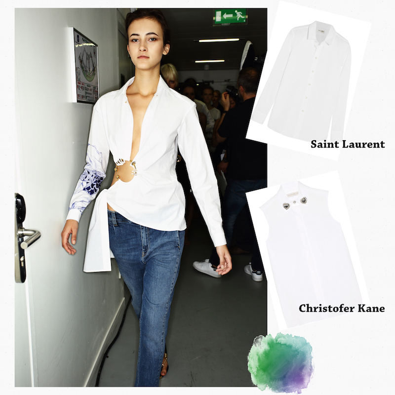 Fashion trends spring 2017 - Trends Spring Summer White Shirt The Dolls Factory