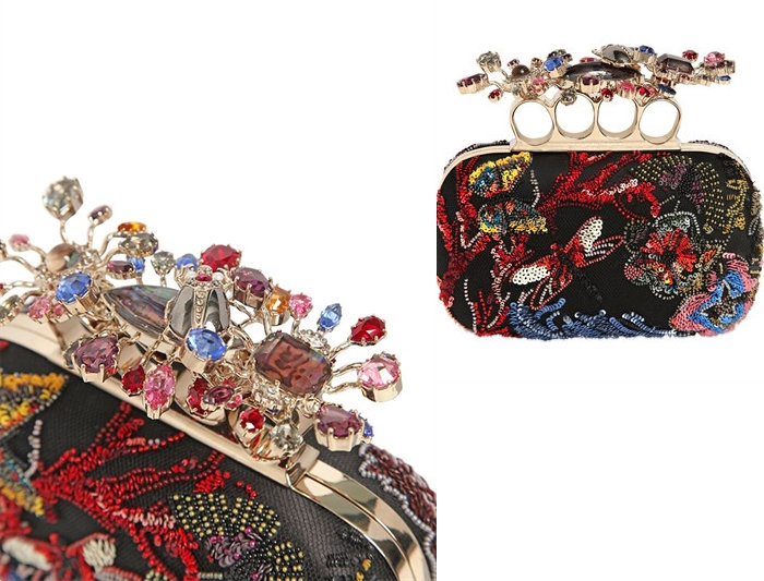 Travel trends 2017 - Embellished Bag Alexander Mcqueen The Dolls Factory